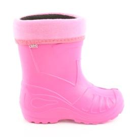 Pink Befado Kinderschuhe kalosz-róż 162Y101