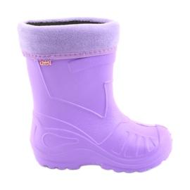 Lila Befado Kinderschuhe Galosh-Violett 162Y102