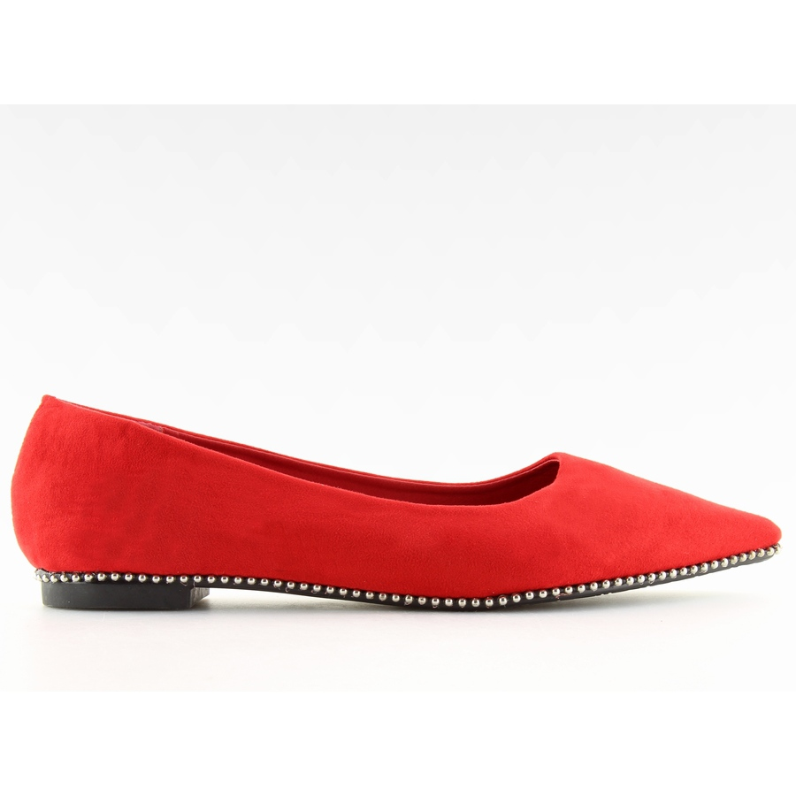 best loved 10549 d3dc7 Rote Damen Ballerinas YQ206 Rot