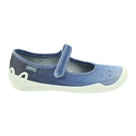 Befado Kinderschuhe 114Y316 blau
