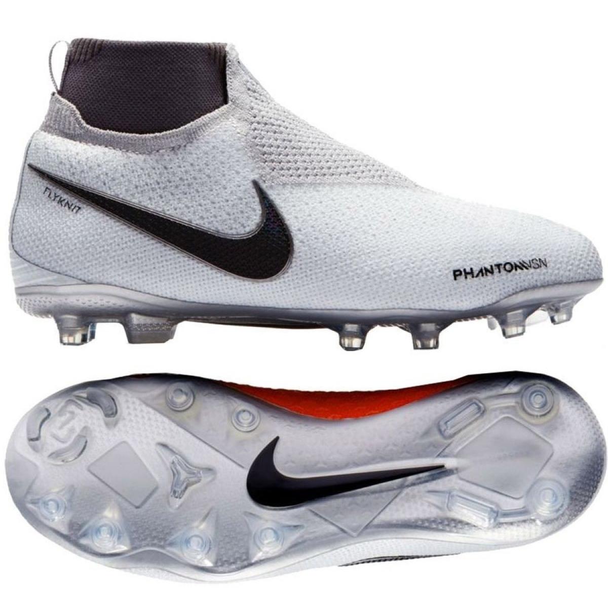Fussballschuhe Nike Phantom Vsn Elite Df Fg Jr Ao3289 060 Weiss Weiss