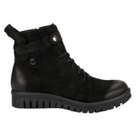 Schwarze Stiefel von VINCEZA Workers