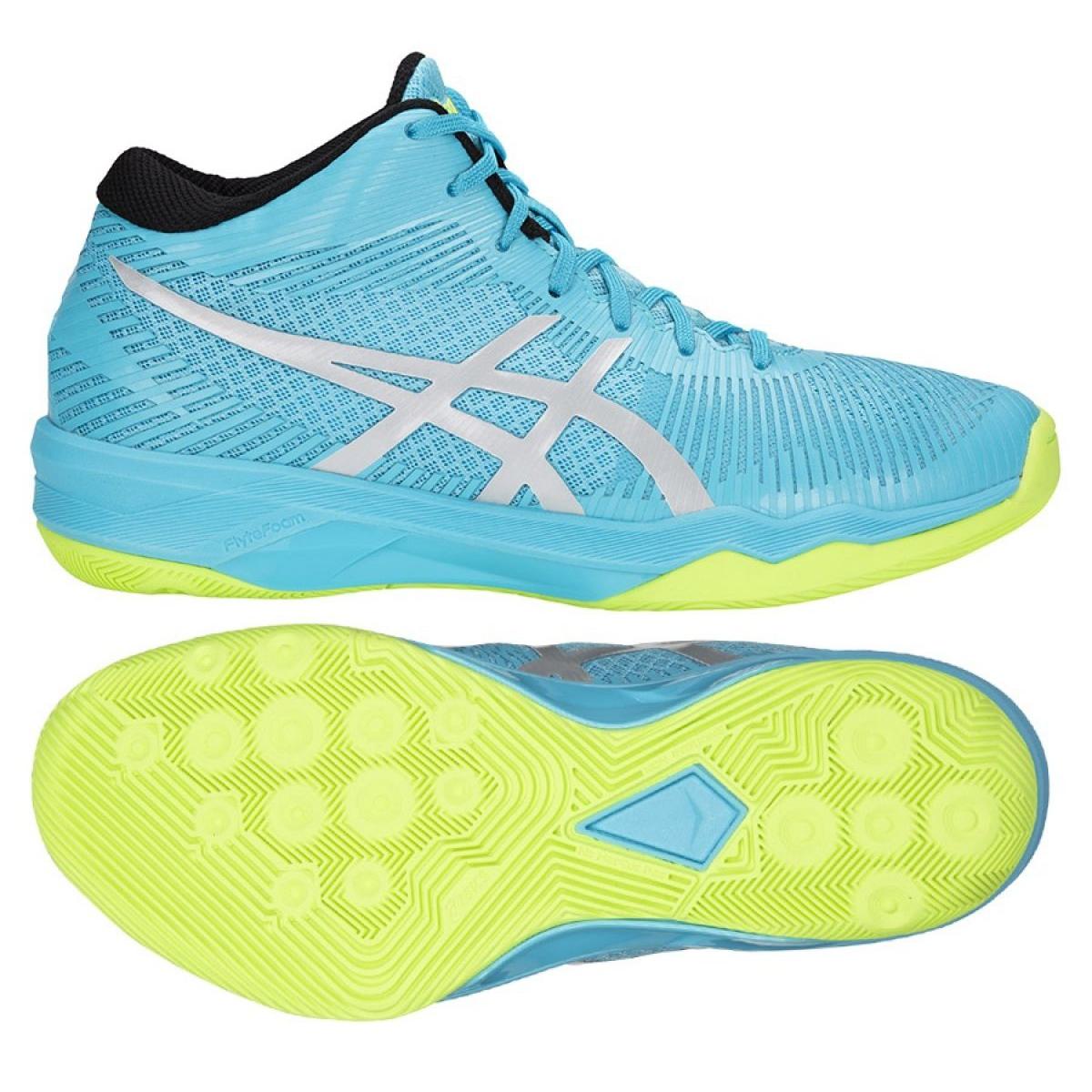 lace up in fashion discount sale Volleyballschuhe Asics Gel-Volley Elite Ff Mt M B750N-400 blau blau