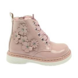 American Club pink Amerikanische Stiefeletten Stiefel Kinderschuhe 1424