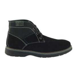 McKey schwarz Ankle Schuhe aus Wildleder 284
