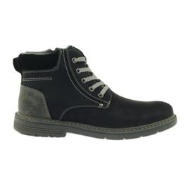 McKey Stiefel für Männer, schwarz, gebunden 288
