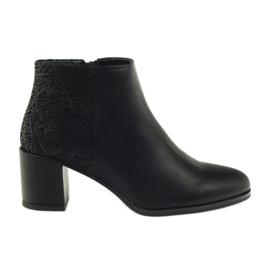 Schwarze High Heels Schuhe Sergio Leone 542