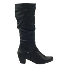Stiefel schwarz super bequem Aloeloe