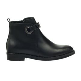 Edeo Stiefel schwarz 3243