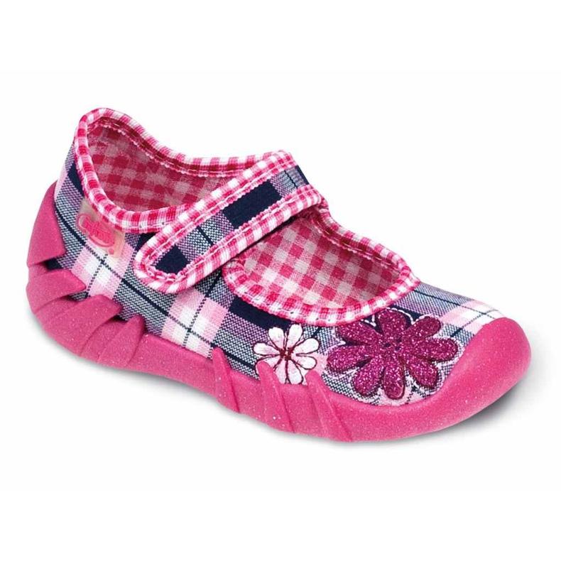 Befado schwarz Kinderschuhe komf. bis zu 23 cm 109P051 pink