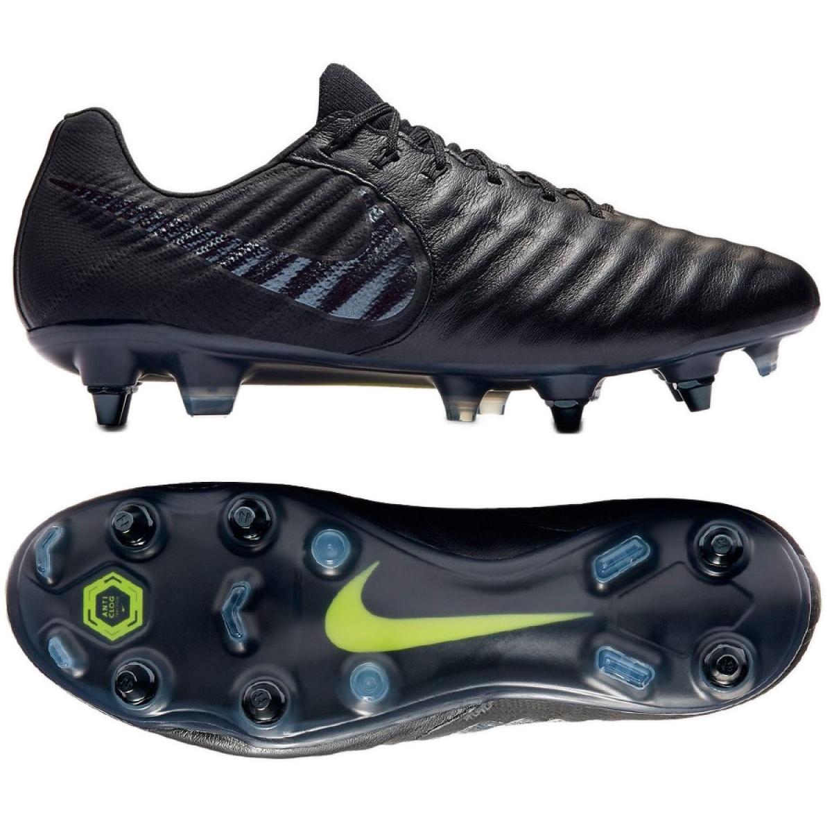 Fussballschuhe Nike Tiempo Legend 7 Elite Sg Pro Ac M Ar4387 001 Schwarz Schwarz