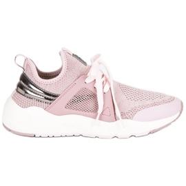 Pink Fila Flagrunner Low Wmn