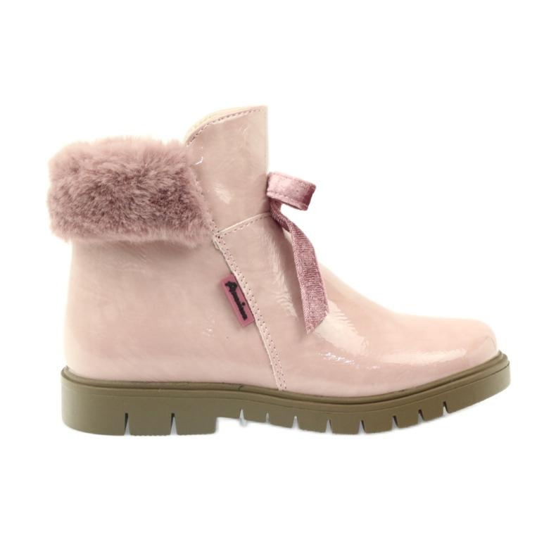 American Club Amerikanische Stiefelstiefel Winterstiefel 18015 pink