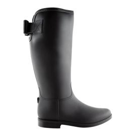Damenstiefel schwarz D58 schwarz