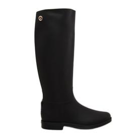 Rainy Show Regenstiefel schwarz D59 Schwarz