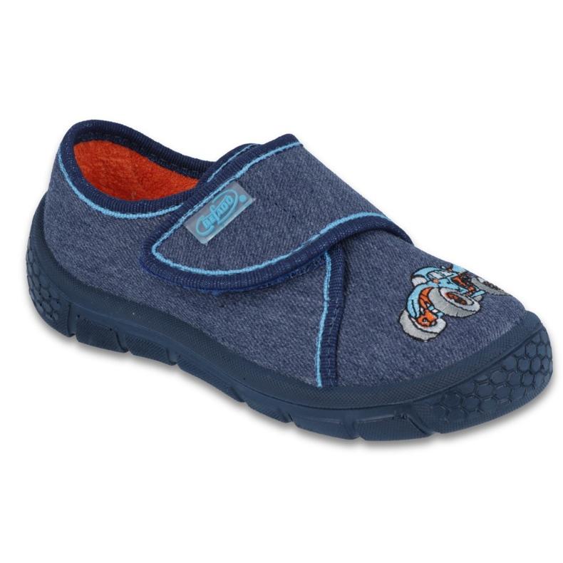 Befado Kinderschuhe 557X053 blau