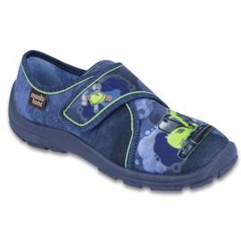 Befado Kinderschuhe 974X332 blau