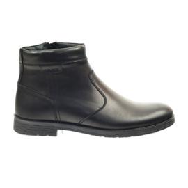 Riko Stiefel mit Reißverschluss 825 schwarz