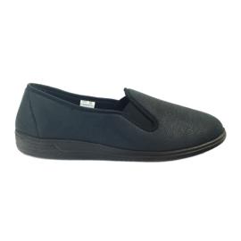 Schwarz Befado Schuhe Herren Sneakers Hausschuhe 013M312