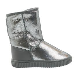 Stiefel Bartek 477750 Naturwolle grau
