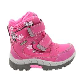 American Club pink Amerikanische Winterstiefel mit 3121 Membran