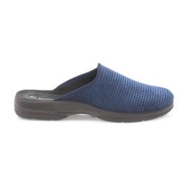 Inblu Herrenhausschuhe marineblau