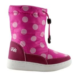 Pink K1646109 Rose Orthopädische Stiefel für Kinder