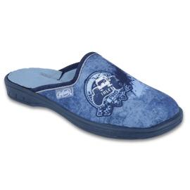 Befado farbige Kinderschuhe 707Y396 blau