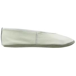 Weiß Gymnastische Ballettschuhe