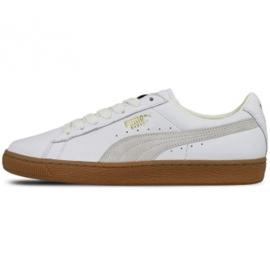 Weiß Puma Basket Classic Gum Deluxe M 365366 01 Schuhe
