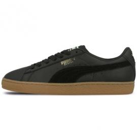 Schwarz Puma Basket Classic Gum Deluxe M 365366 02 Schuhe