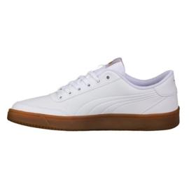 Weiß Schuhe Puma Court Breaker L Mono M 364976 04