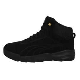 Schwarz Schuhe Puma Desiero Sneaker Taffy M 361220 02