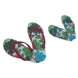 Hausschuhe, Speedo Dschungel Tanga Flip-Flops mehrfarbig