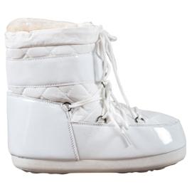Weiß Modische Schneestiefel