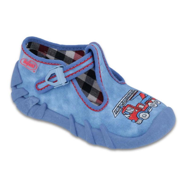 Befado Kinderschuhe 110P343 blau