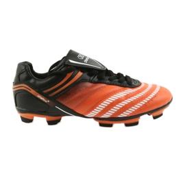 Fußballschuhe Atletico FG Jr 14-1216 schwarz, orange orange