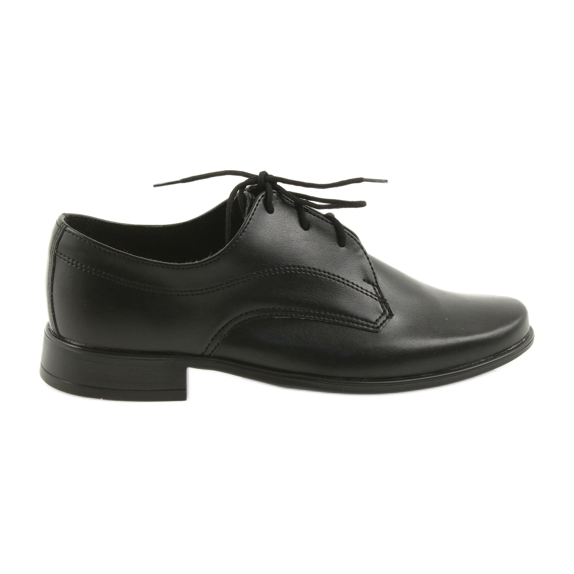 Schwarz Kommunion Kinderschuhe Miko Jungen Schuhe tsdCBhxQr