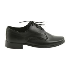 Miko Schuhe Kinderschuhe Jungen Kommunion schwarz