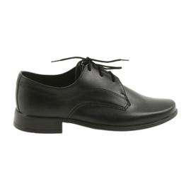 Schwarz Miko Schuhe Kinderschuhe Jungen Kommunion