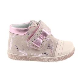 Ren But pink Velcro-Booties Babyschuhe Ren Aber 1535 rosa Flamingos