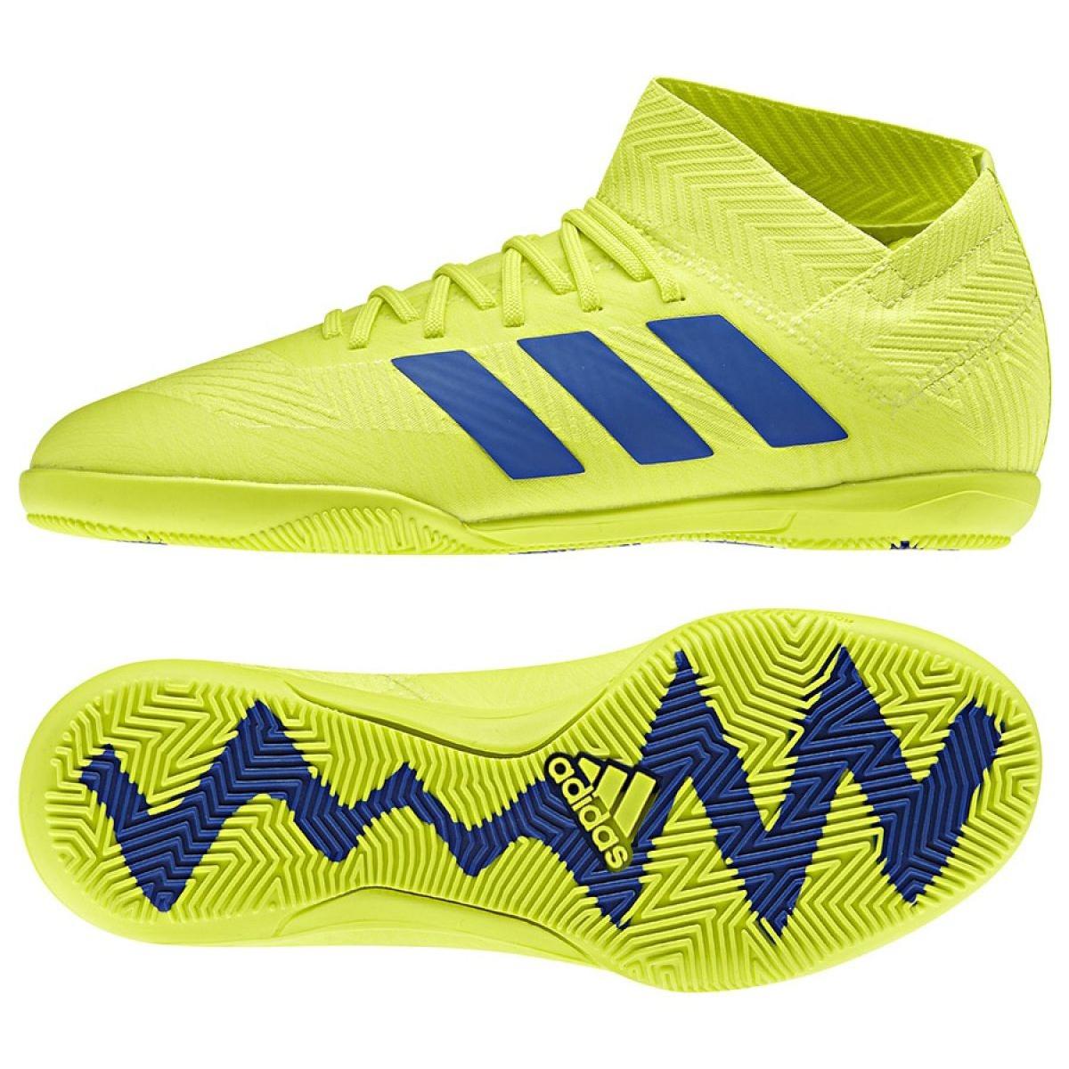 4cfbd8ea66013 Indoor Schuhe adidas Nemeziz 18.3 In Jr CM8512 - ButyModne.pl
