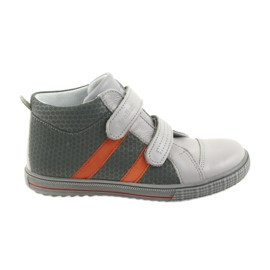 Ren But Boote Schuhe Kinder Klettstiefel Ren 4275 grau / orange