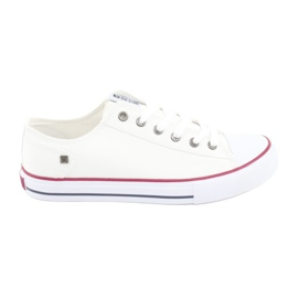 Weiß Big Star Sneakers gebunden 174271