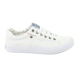 Weiß Big Star Men's Sneakers gebunden 174097