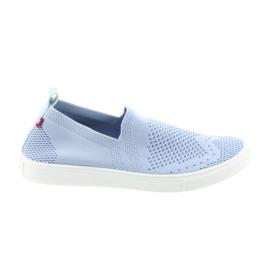 Blau Slipony-Slip-on-Sneakers von Big Star 274785