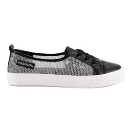 Schwarz MCKEYLOR - Sneakers aus Mesh