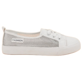 Weiß MCKEYLOR - Sneakers aus Mesh
