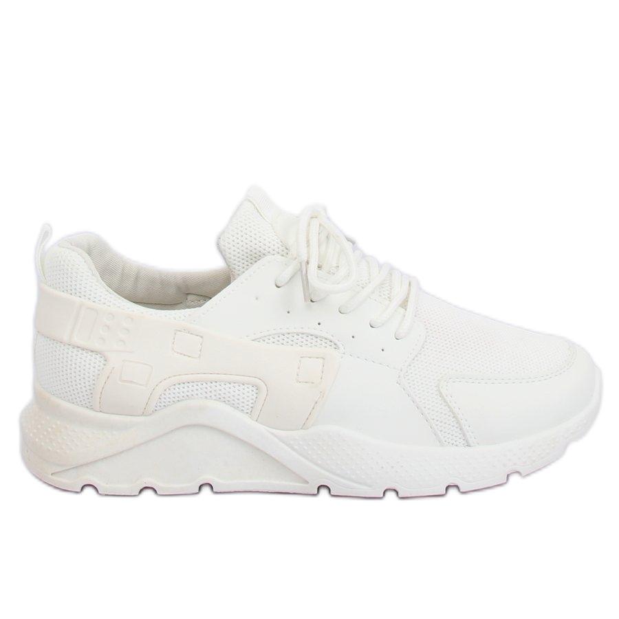 Weiß LA18P Weiße Sportschuhe