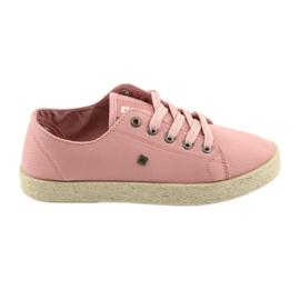 Ballerinas Espadrilles Damenschuhe pink Big Star 274425